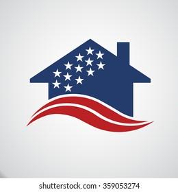 American house logo