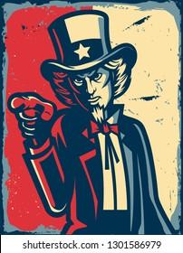american illustration vintage