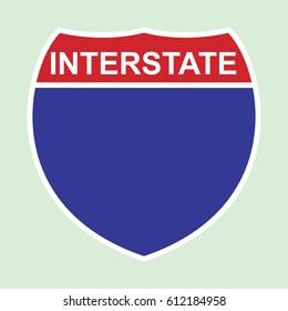 American interstate symbol