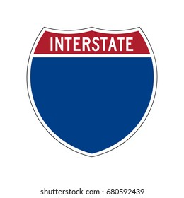 American interstate symbol