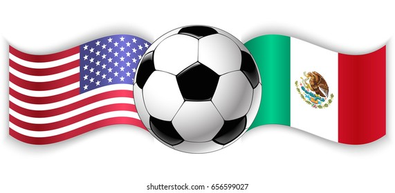 Mexico Vs Usa Stock Illustrations Images Vectors Shutterstock