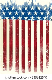 American poster background