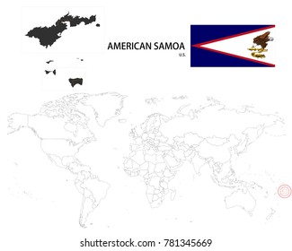 American Samoa Flag Images, Stock Photos & Vectors   Shutterstock