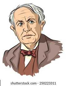 An American scientist and inventor (Thomas Edison).