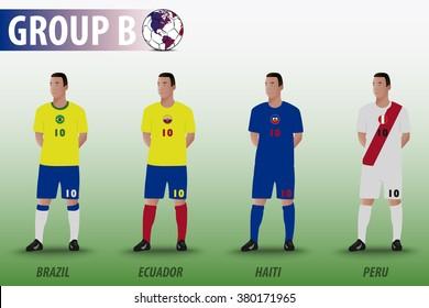 American Soccer Group B