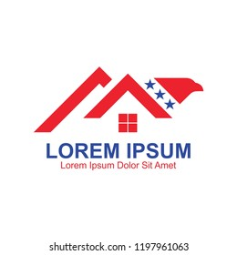 American Stars Eagle Home Logo