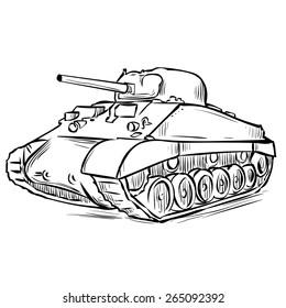 Ww2 Tank Stock Vectors, Images & Vector Art | Shutterstock