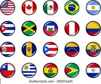 Banderas America Latina Imágenes Fotos De Stock Y Vectores Shutterstock