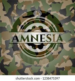 Amnesia camouflaged emblem