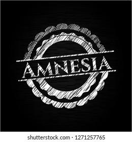 Amnesia chalk emblem