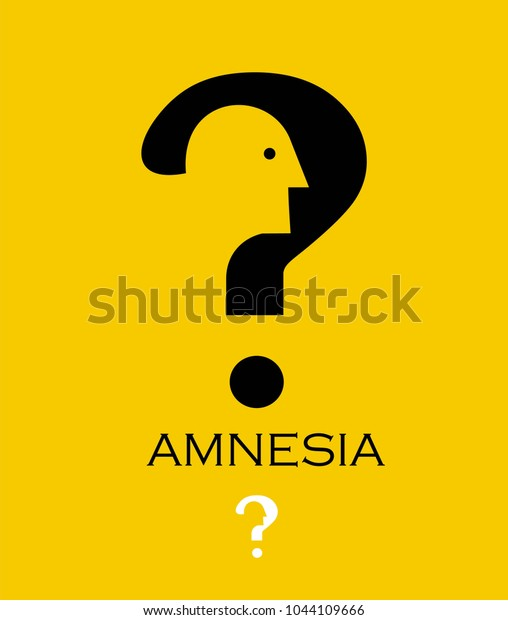 Amnesia Dementia Alzheimer Stock Vector (Royalty Free