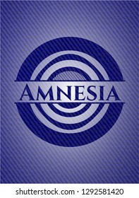 Amnesia with jean texture