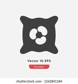 amoeba icon vector