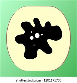 Amoeba icon vector design