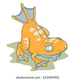 Amphibian Monster Vector
