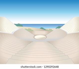 Amphitheater ruins image