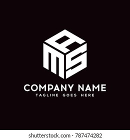 AMS logo symbol. vector business symbol element eps10.