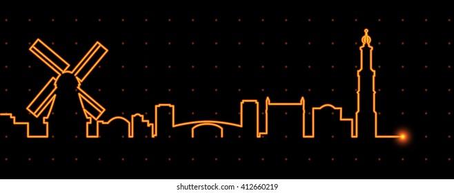 Amsterdam Light Streak Profile