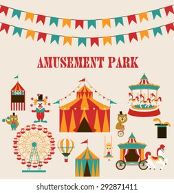 Amusement park Birthday party
