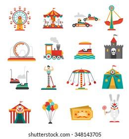 Amusement Park Ride Images Stock Photos Vectors Shutterstock
