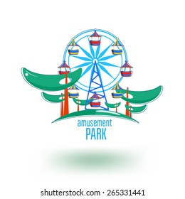 Amusement Park Logo Images Stock Photos Vectors Shutterstock