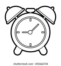 analog alarm clock icon image