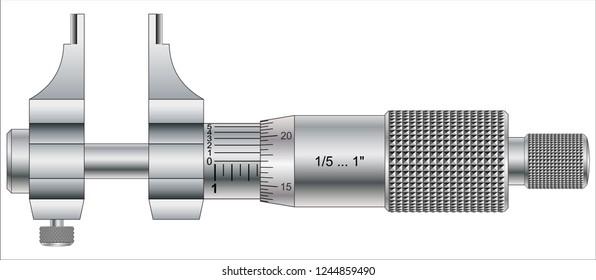 Analog Inside Micrometer - inch