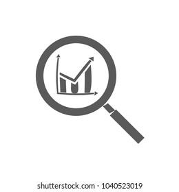 analysis vector icon