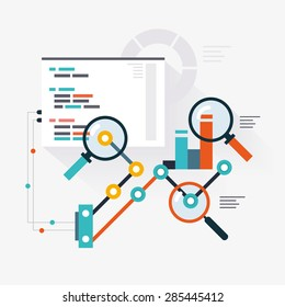 Analytical engine of website optimization