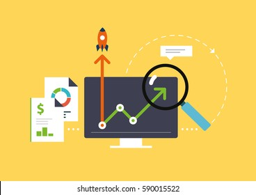 Analytics for business, website SEO optimization