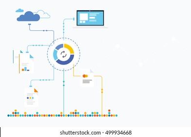 Analytics Ecosystem. Data Analysis. Analytics report