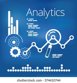 Analytics Infographic Elements