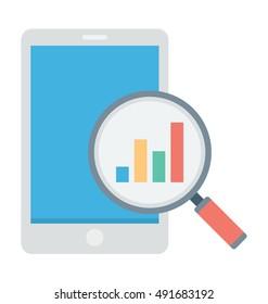 Analytics Vector Icon