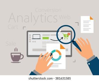 Analyzing the purchasing process
