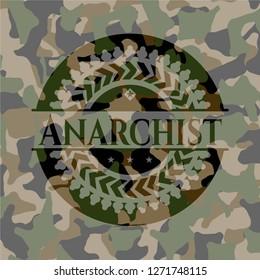 Anarchist camo emblem