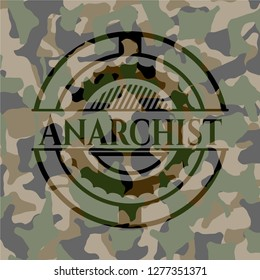 Anarchist camouflage emblem