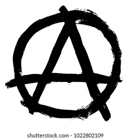 Anarchy sign - mother of order - best for t-shirts, prints, logos and other