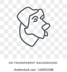Anatolian Shepherd Dog icon. Trendy flat vector Anatolian Shepherd Dog icon on transparent background from dogs collection. High quality filled Anatolian Shepherd symbol use for web