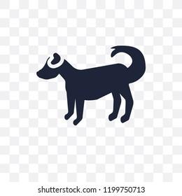 Anatolian Shepherd Dog dog transparent icon. Anatolian Shepherd Dog dog symbol design from Dogs collection. Simple element vector illustration on transparent background.
