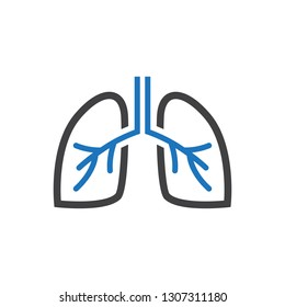 Anatomy - Lungs Icon