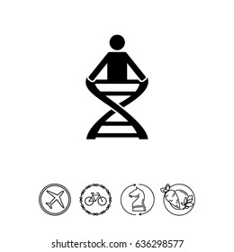 Anatomy simple icon
