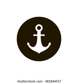 Anchor icon. Anchor clip art. Art design illustration. Compatible with ai, cdr, pdf, png and eps formats. Compatible with ai, cdr, jpg, png, svg, pdf, ico and eps.