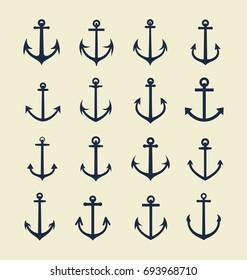 Anchor Icon Collection