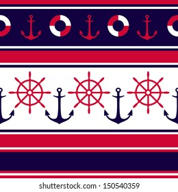 anchors and steering wheels