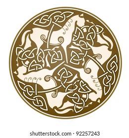 """ancient celtic symbol of """"Epona"""" celtic goddess"""