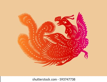Ancient Chinese Phoenix