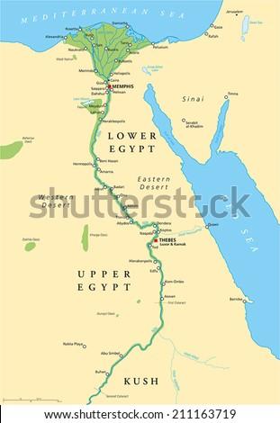 Ancient Egypt Map Sahara Desert   autobedrijfmaatje