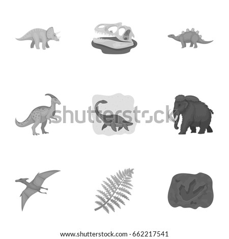 Image of: Mammals Ancient Extinct Animals And Their Tracks And Remains Dinosaurs Tyrannosaurs Pnictosaursdinisaurs Shutterstock Ancient Extinct Animals Their Tracks Remains Stock Vector royalty