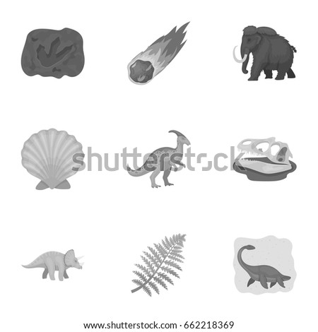 Image of: Their Tracks Ancient Extinct Animals And Their Tracks And Remains Dinosaurs Tyrannosaurs Pnictosaursdinisaurs Shutterstock Ancient Extinct Animals Their Tracks Remains Stock Vector royalty