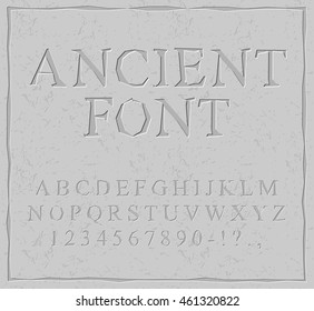 Carved Letters Images, Stock Photos & Vectors | Shutterstock